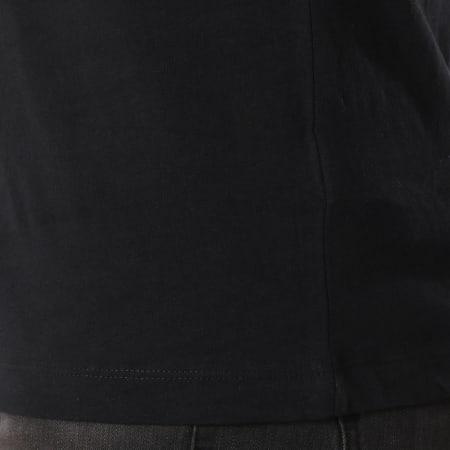 Calvin Klein - Tee Shirt Poche Monogram Pocket Slim 1023 Noir