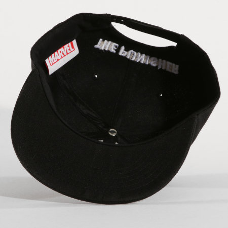 Marvel - Casquette Snapback The Punisher Noir