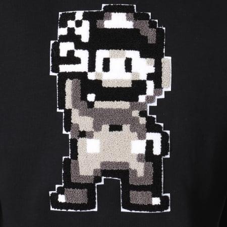 Nintendo - Sweat Crewneck Mario Peace Noir