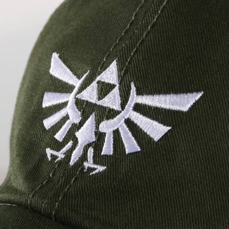 Nintendo - Casquette Zelda Tri-Force Vert Kaki