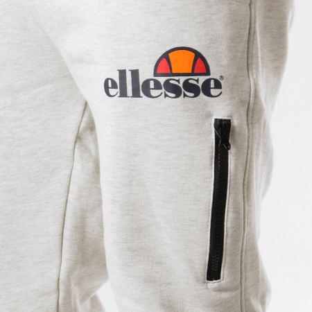 Ellesse - Pantalon Jogging Molleton Classic Beige Chiné