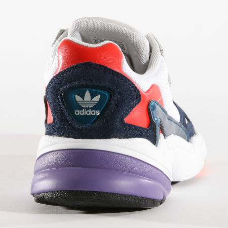adidas Baskets Femme Falcon CG6246 Crystal White Core Navy