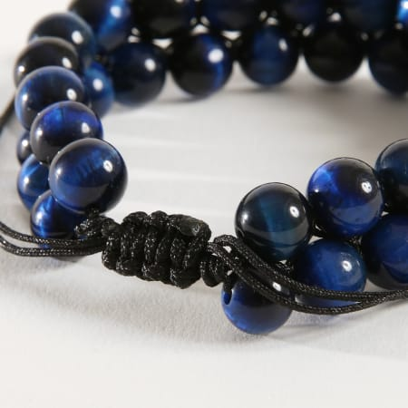 California Jewels - Bracelet B943-1 Bleu Marine