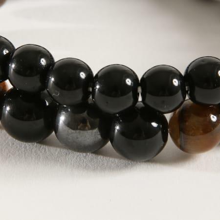 California Jewels - Bracelet B924 Tigers Eye Noir