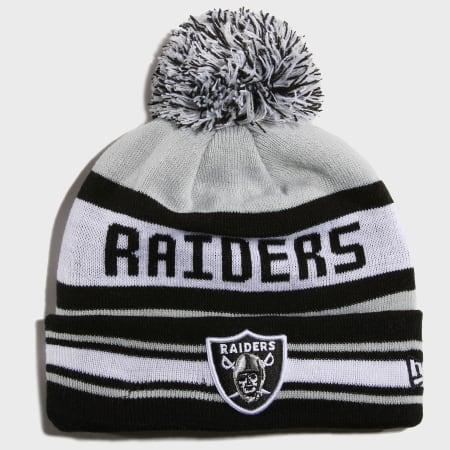 New Era - Bonnet Team Okaland Raiders 11082211 Noir Gris Blanc