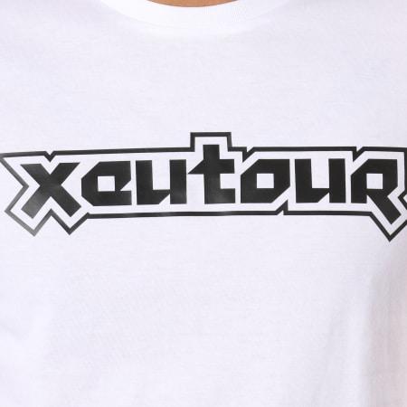 Vald - Tee Shirt Xeu Tour Blocky Blanc
