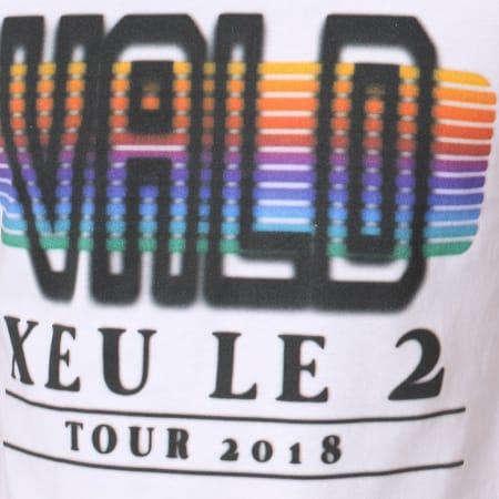 Vald - Tee Shirt Xeu Tour Xeule2 CRT Blanc