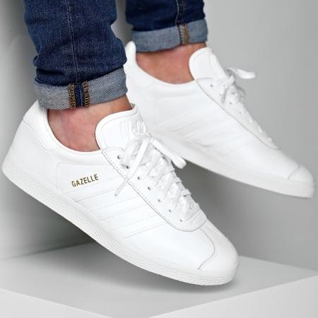 adidas Baskets Gazelle BB5498 Footwear White Gold Metallic