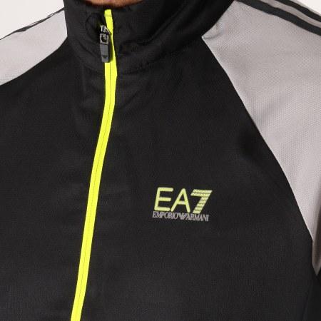 EA7 - Ensemble De Survetement 3GPV02-PNP5Z Noir Gris