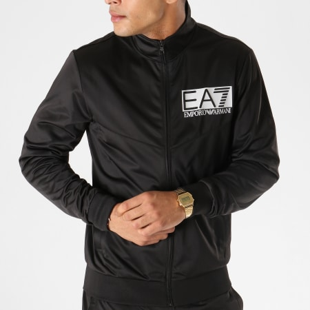 EA7 - Ensemble De Survetement 3GPV58-PJ08Z Noir