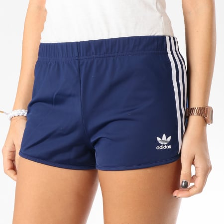 adidas - Short Jogging 3 Stripes DV2559 Bleu Marine