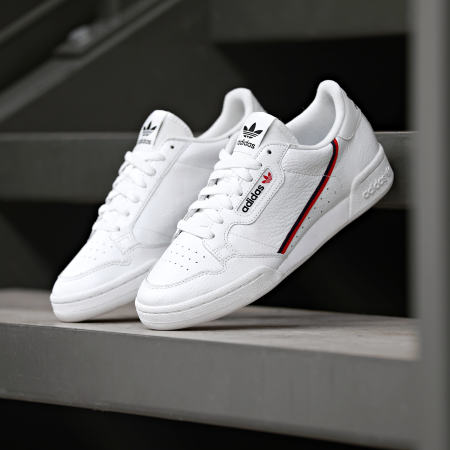 adidas - Baskets Femme Continental 80 F99787 Footwear White ...