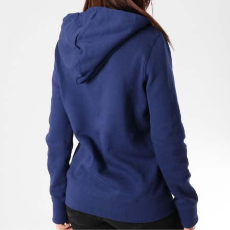 adidas Sweat Capuche Femme Trefoil DV2568 Bleu Marine