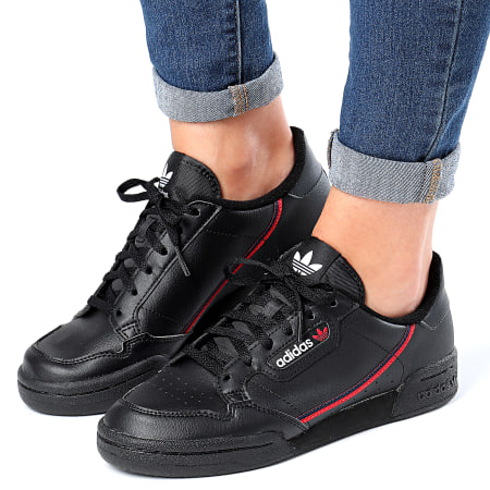 adidas Baskets Femme Continental 80 F99786 Core Black