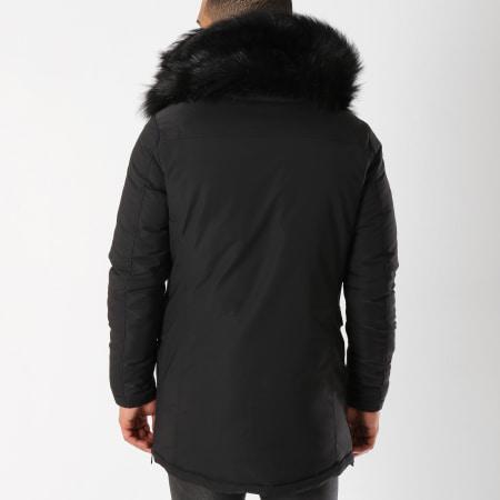 MTX - Parka Fourrure 788 Noir