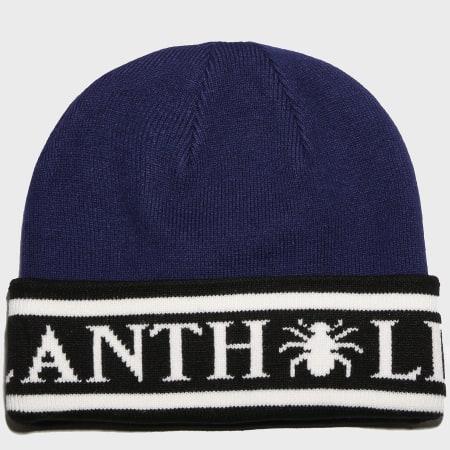 Anthill - Bonnet Anthill Bleu Marine Noir Blanc