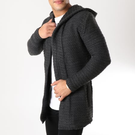 Ikao - Gilet Capuche F269 Gris Anthracite