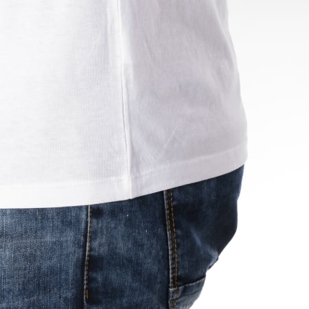 93 Empire - Tee Shirt 93 Empire Camo Blanc Vert Kaki