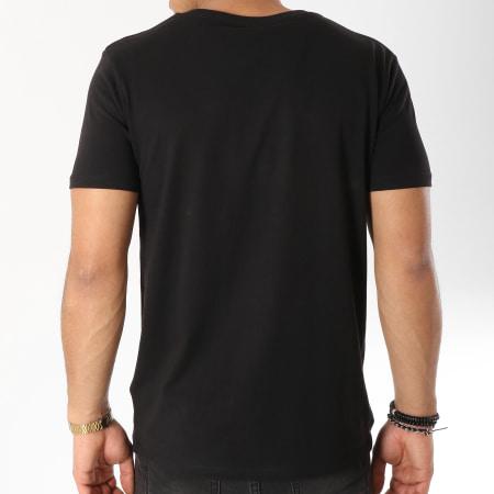 93 Empire - Tee Shirt 93 Empire Camo Noir Vert Kaki