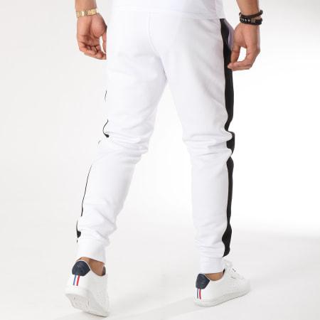 Final Club - Pantalon Jogging Premium Avec Bandes Et Broderie 157 Blanc