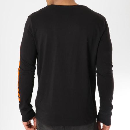 NASA - Tee Shirt Manches Longues Admin Noir Orange