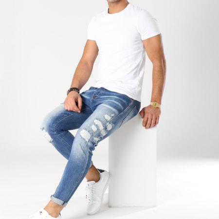 GRJ Denim - Jean Skinny 13419 Bleu Denim