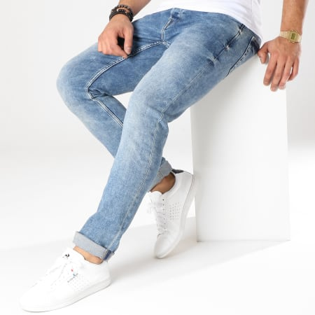 Only And Sons - Jean Slim Loom Bleu Denim