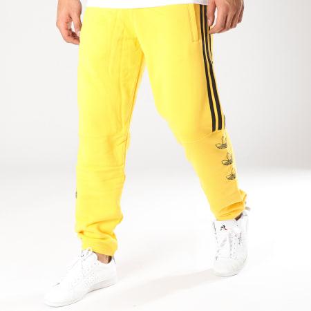 adidas pantalon jaune