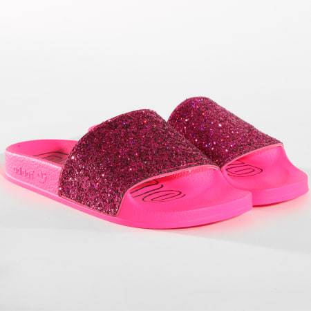adidas - Claquettes Femme Adilette DB1216 Rose ...
