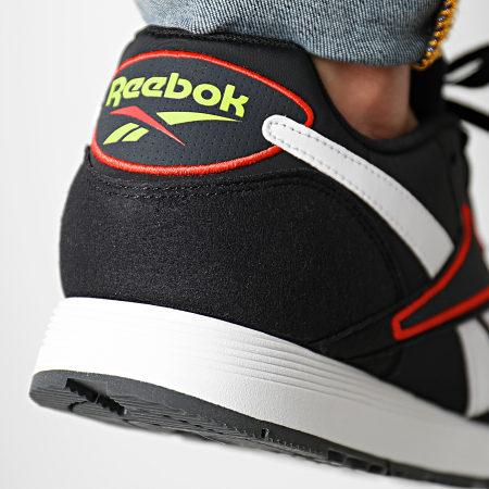 Reebok - Baskets Rapide MU CN7521 Black White Grey Red Lime