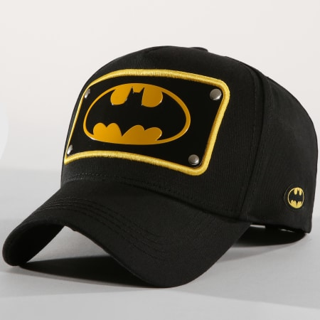 DC Comics - Casquette Batman P3 Noir Jaune