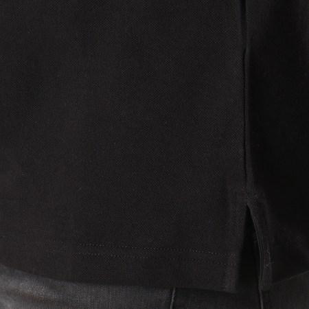 Versace Jeans - Polo Manches Longues B3GTA7P2 Noir Doré