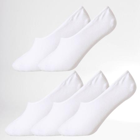 Jack And Jones - Lot De 5 Paires De Chaussettes Basic Multi Blanc