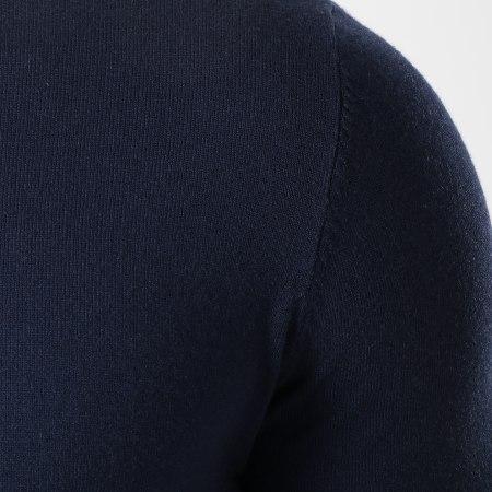 Uniplay - Pull Col Roulé CT003 Bleu Marine