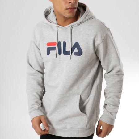 Fila - Sweat Capuche Pure 681090 Gris Chiné