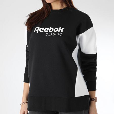 Reebok - Sweat Crewneck Femme Classic A DY1677 Noir Blanc
