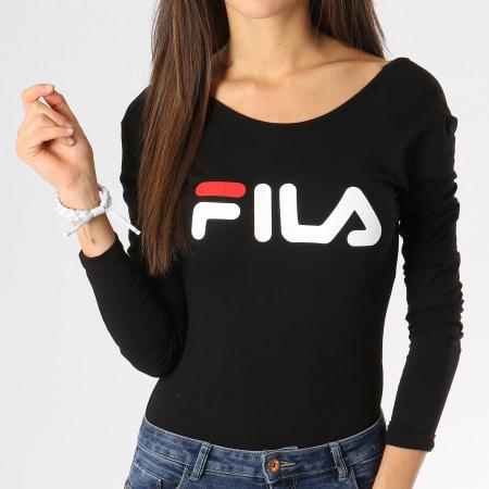 Fila - Body Manches Longues Femme Yulia 687092 Noir