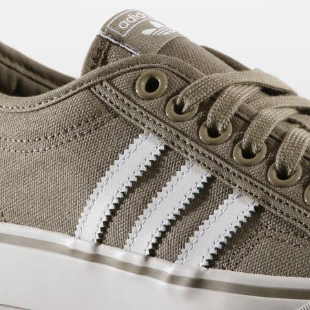 adidas - Baskets Nizza CM8572 Brown Footwear White Crystal White