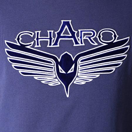 Charo - Tee Shirt Division Bleu Marine