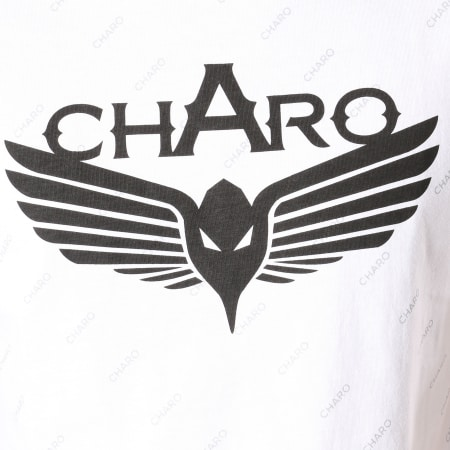 Charo - Tee Shirt Refined WY4262 Blanc
