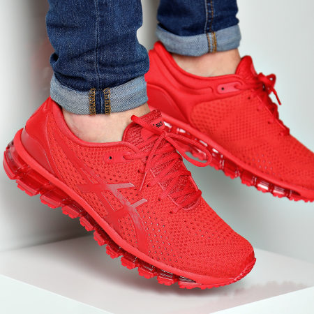 asics 360 knit rouge