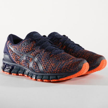 asics 360 bleu orange
