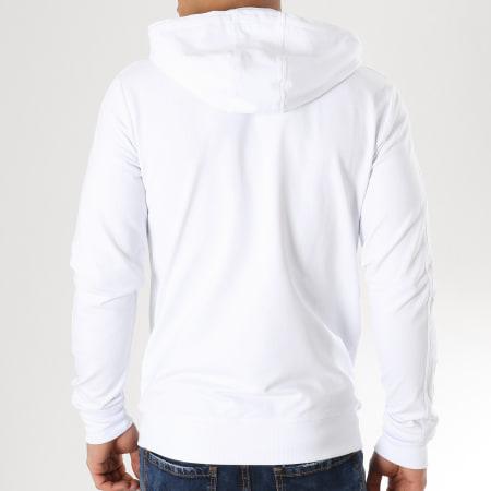 Antony Morato - Sweat Capuche Zippé MMFL00412 Blanc