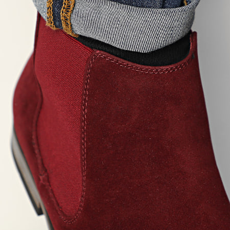 Classic Series - Chelsea Boots GH3026 Burgundy