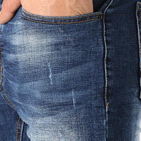 LBO - Short Jean LB054-B2 Bleu Brut