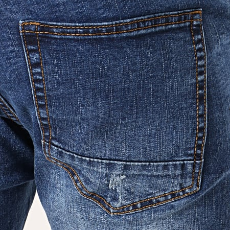 LBO - Short Jean LB054-B12 Bleu Medium