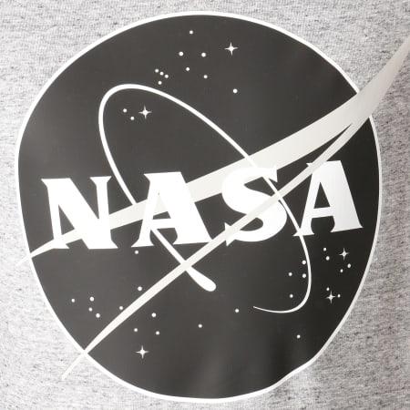 NASA - Sweat Crewneck Insignia Desaturate Gris Chiné