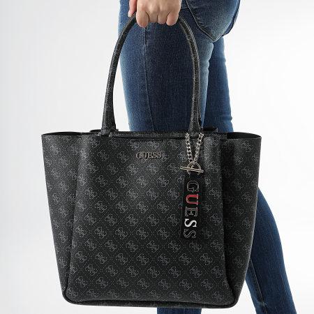 Guess - Sac A Main Femme SG729523 Noir Gris - LaBoutiqueOfficielle.com