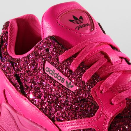 adidas Baskets Femme Falcon BD8077 Shock Pink Core Purple