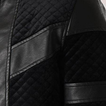 Frilivin - Veste Zippée Velours QQ528 Noir